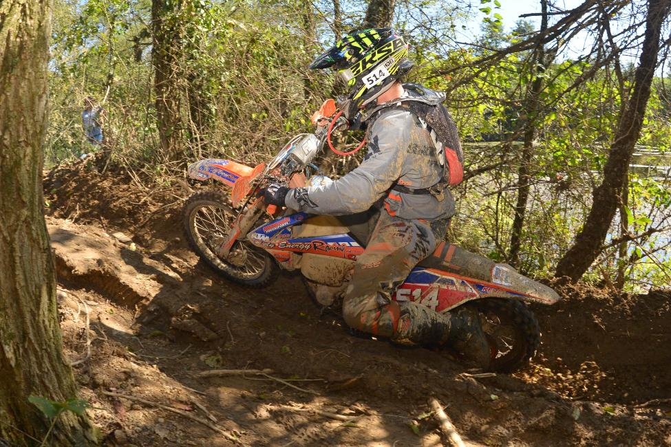 Steward Baylor Jr. battled at the front of the pack at the Mason-Dixon GNCC, and is hoping to contend for the overall win this weekend.