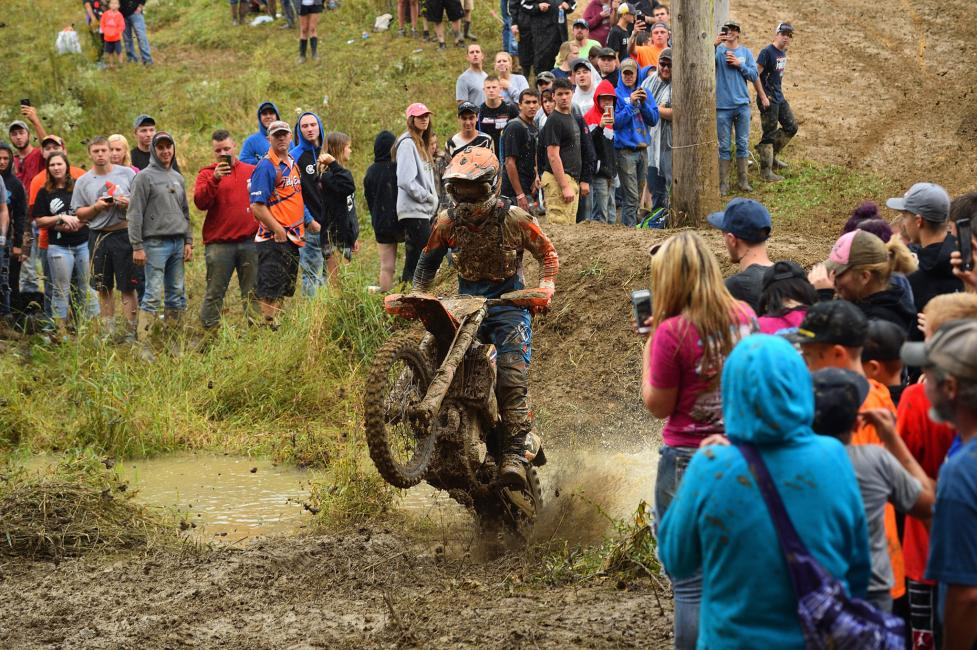 The Powerline Mudhole is the most popular spot, where riders have the option of jumping over a section of mud, or taking the easier (but longer) way around.