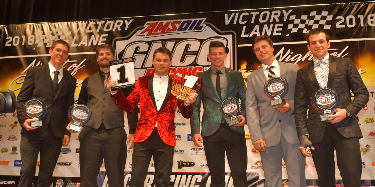 GNCC Racing Recognizes Top Racers and Sponsors at 2018 Awards Banquet