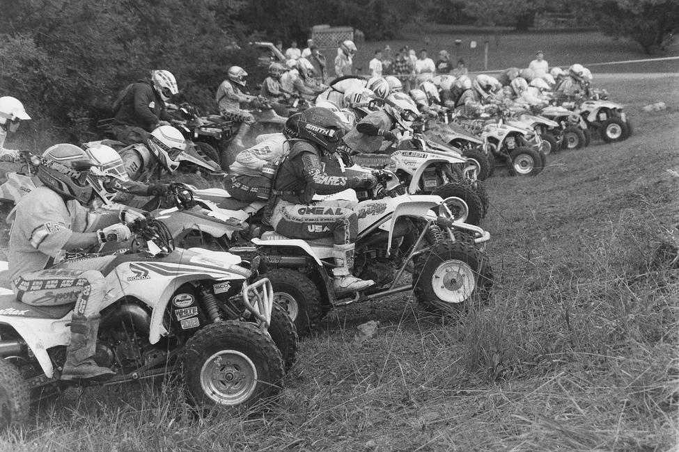 Here's some start action from the 1992 Hardrock GNCC