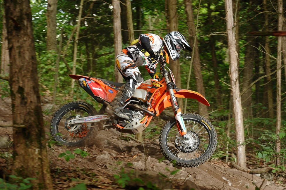 Charlie credits his some of his experience as a top GNCC racer to his success in the cycling world.
