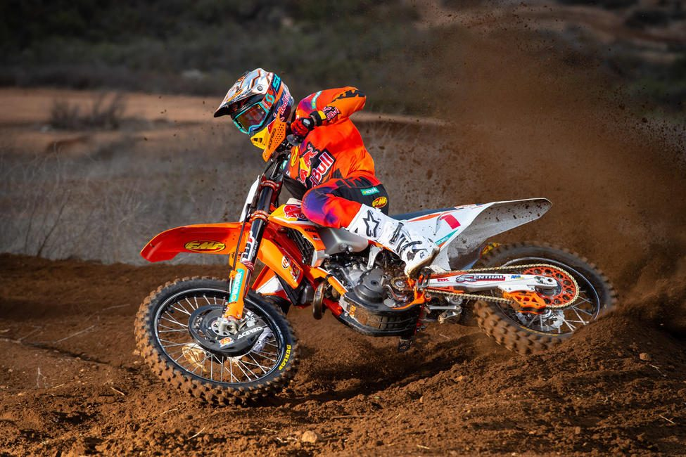 Kailub Russell is set to defend his GNCC National Title on the East Coast.