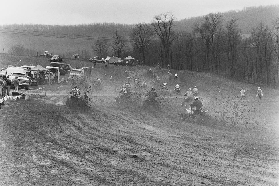Here's a sloppy 1990 High Point GNCC!