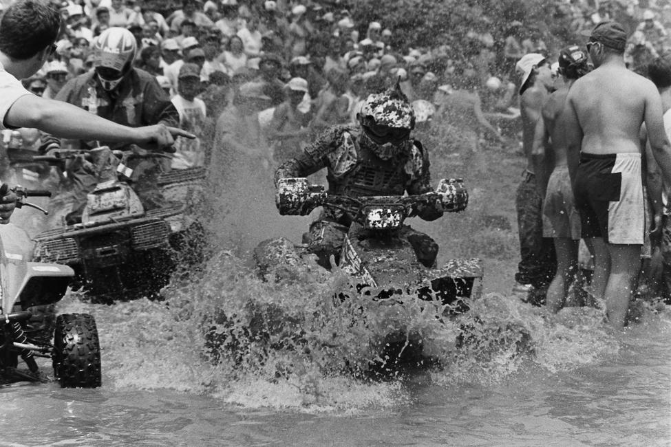 And last but not least, here's some river crossing mayhem from the 1993 Blackwater 100!