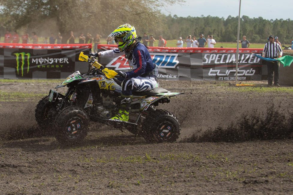 Drew Landers is hoping to earn his first XC2 Pro-Am class win at The General GNCC.
