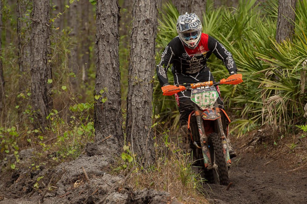 Jonathan Girroir is hoping to get a good jump off the line this Sunday, and contest for an XC2 250 Pro class win.