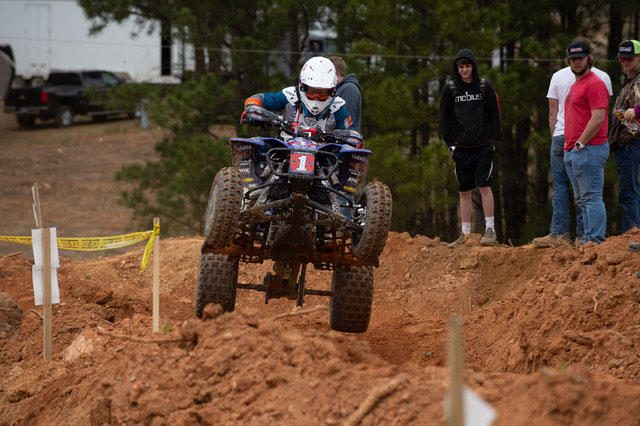 Walker's finely-tuned machine worked perfect in the dry and dusty race conditions.