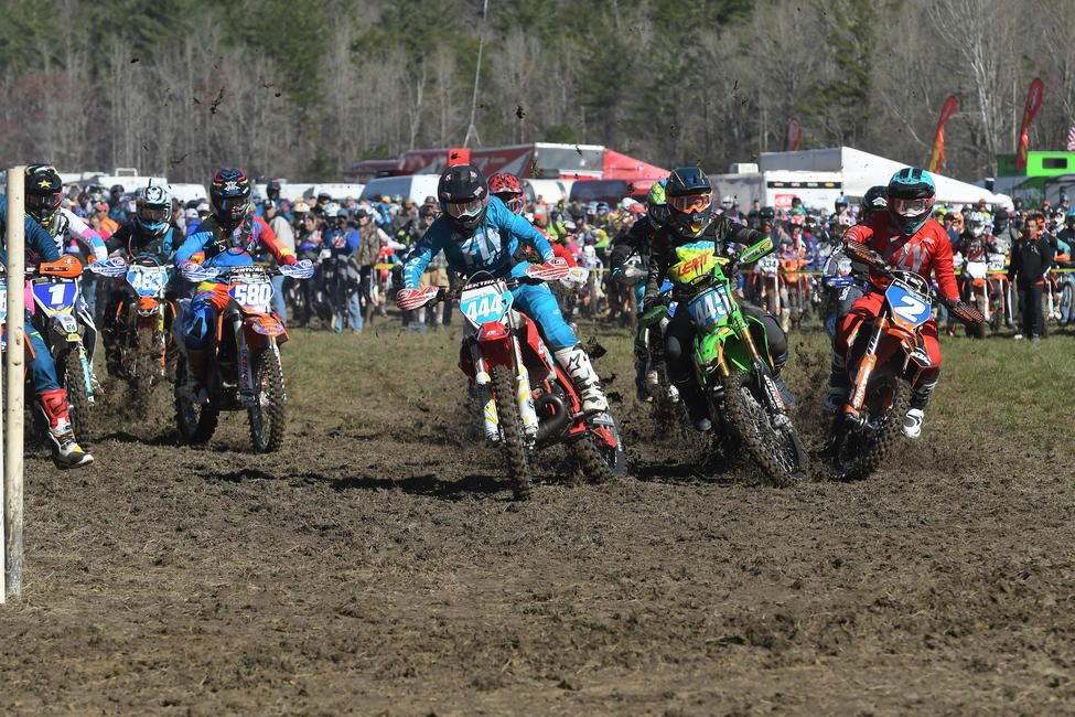 Korie Steede raced her way to the WXC holeshot on Sunday morning.