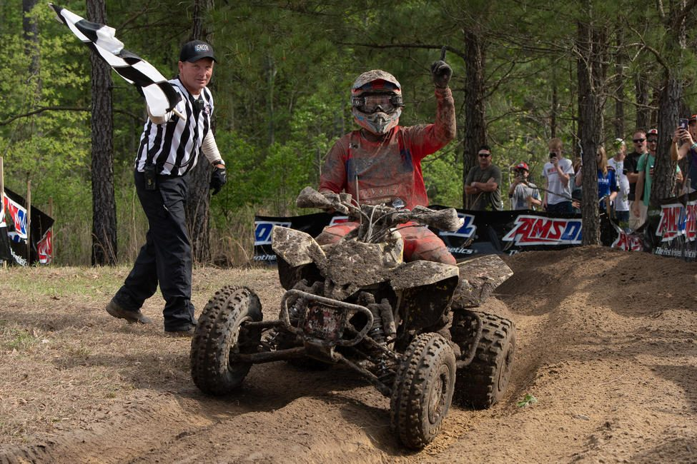 Chris Borich earned his 75th overall career ATV win, and his first overall win of the 2019 season.