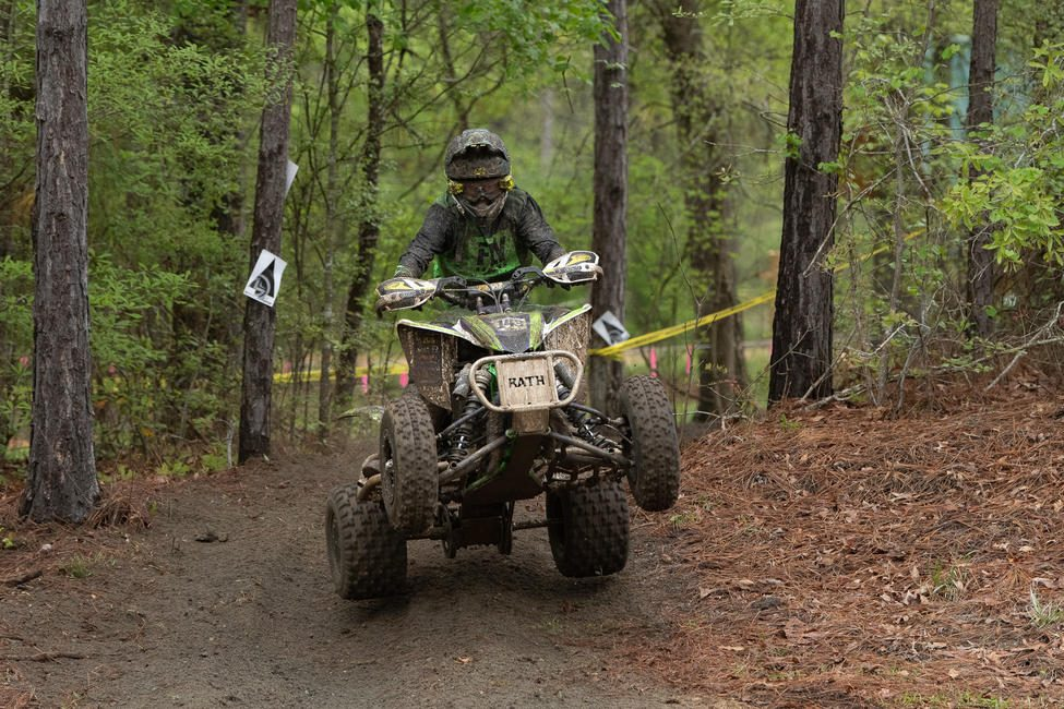 Charlie Stewart made his way to third overall in the 8 a.m. youth race after starting from the second row in YXC2 Super Mini Jr. Stewart also earned his fourth consecutive class win of the season.