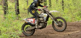 Rockstar Energy Husqvarna Factory Racing's Thad Duvall Claims a Runner-Up Finish at GNCC Round 4
