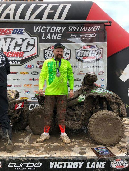 Rob Smith finished on the 4x4 Pro podium for the second time this year.