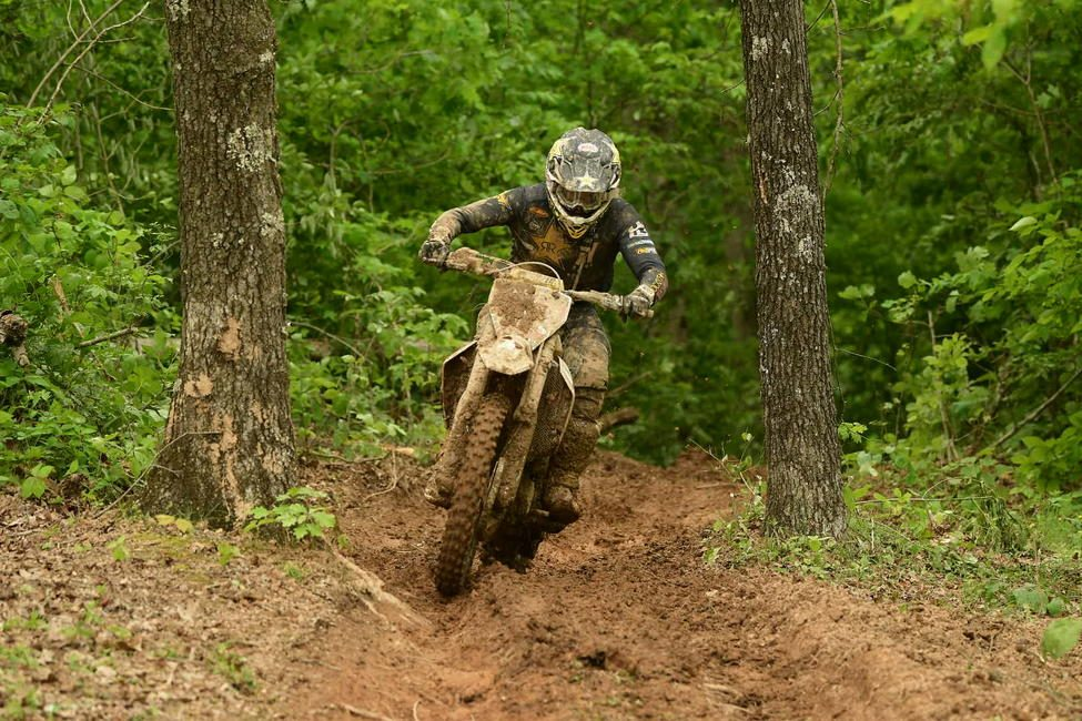 "Rockstar Energy Husqvarna Factory Racing's Thad DuVall secures his second win of the season at his ""home race""."