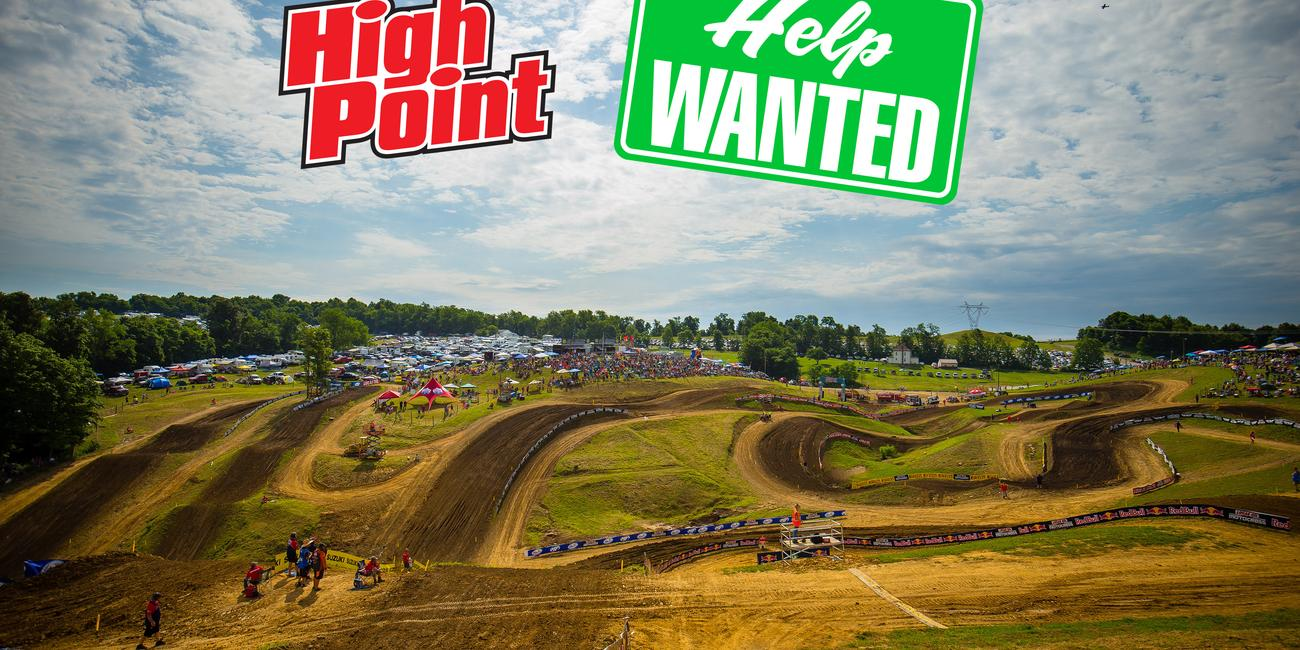 Help Wanted at High Point National