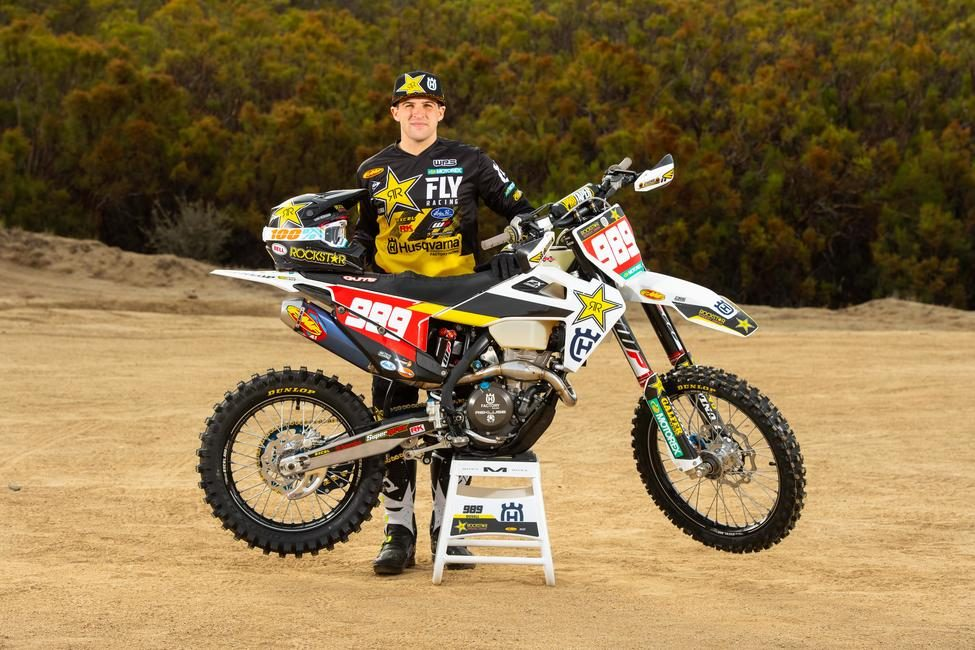 Thad Duvall extends his contract with the Rockstar Energy Husqvarna Factory Racing Off-road Team.