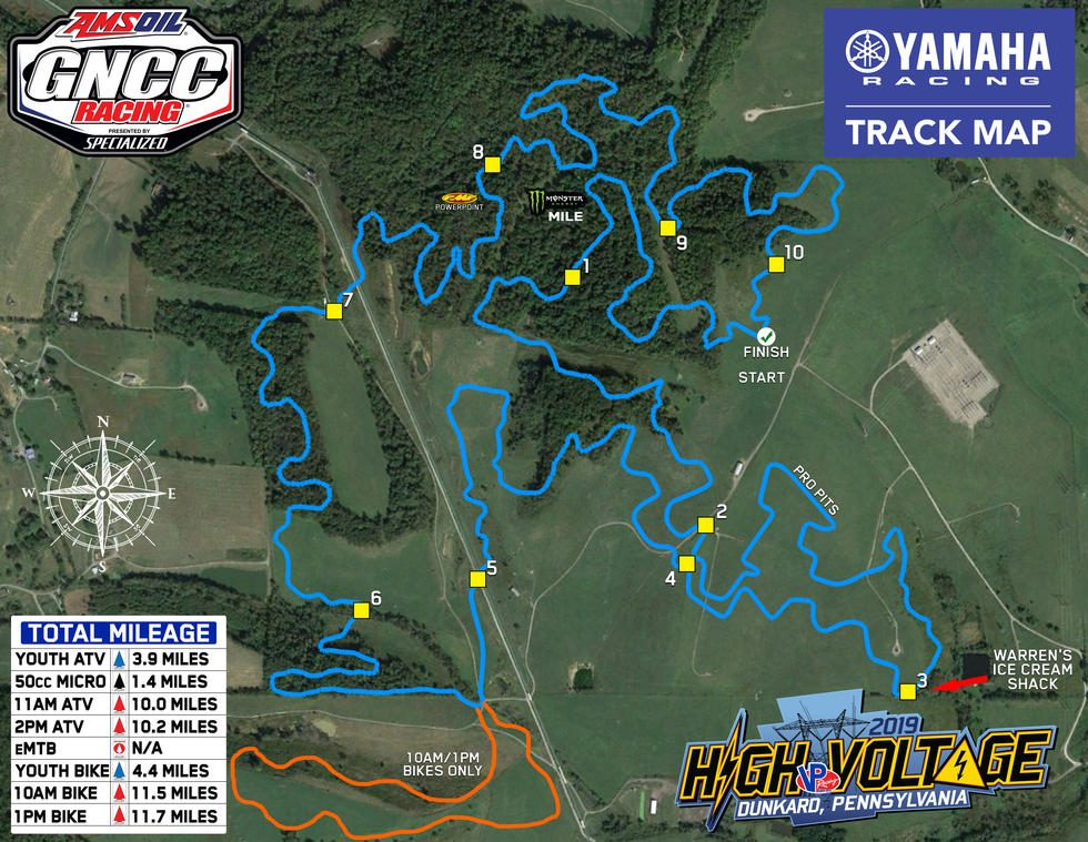 Lilly Family Farm Track Map
