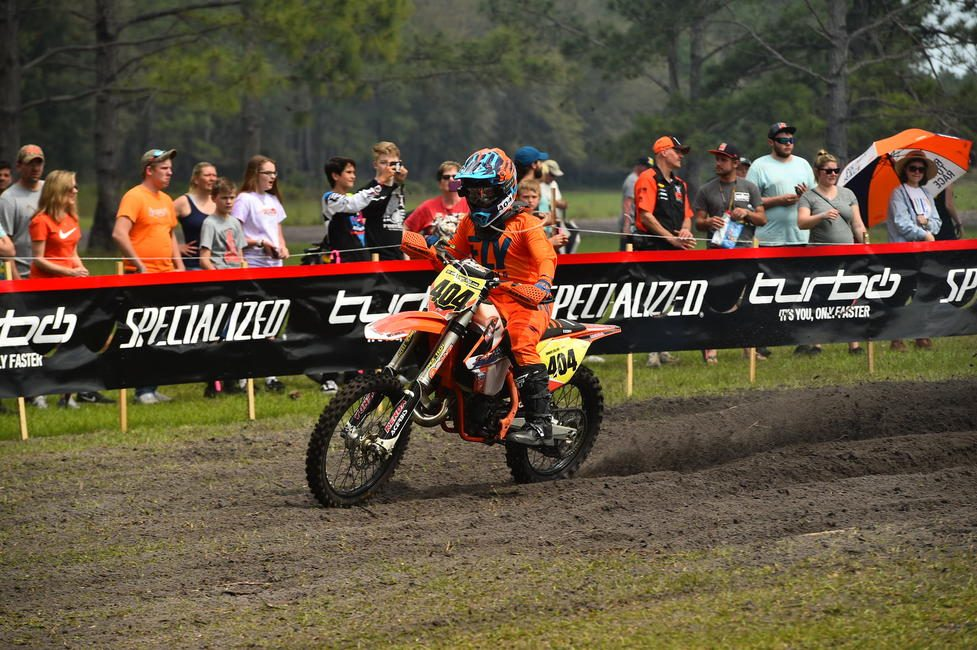 Tanner Collins started racing the GNCC Series full-time in 2012.