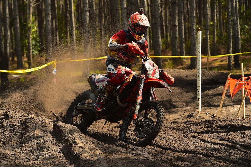 Kailub Russell will be aiming to clinch his 60th win at the Black Sky GNCC next Sunday, September 15.