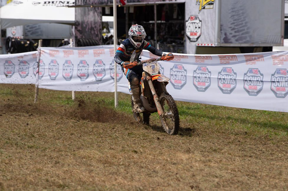 Jesse Ansley sits one point behind Barnes in the FMF XC3 class championship standings, and will be aiming to take the class win this weekend.