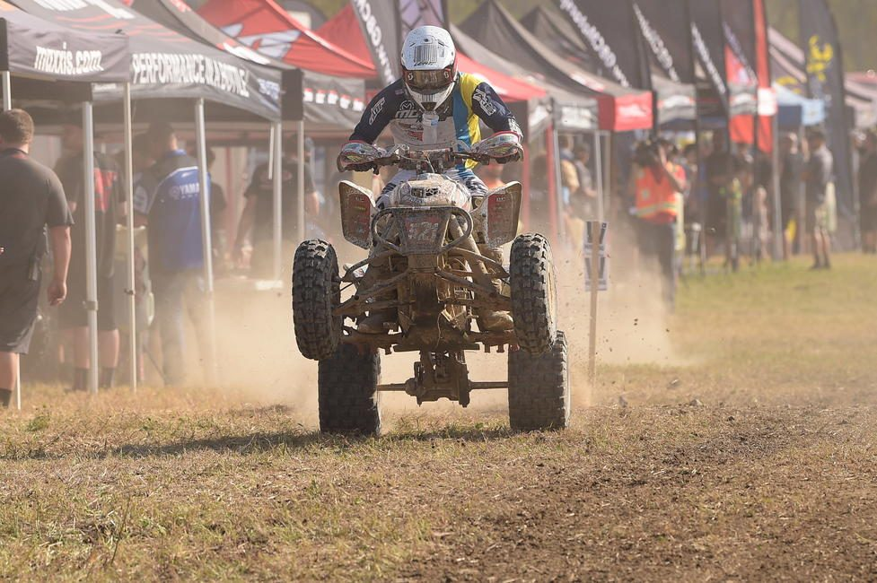 Adam McGill is eager for another West Virginia GNCC this weekend, and is aiming for a podium finish.