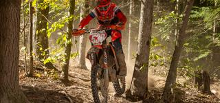 Ben Kelley Earns First-Career Overall Win at Yamaha Mountaineer GNCC