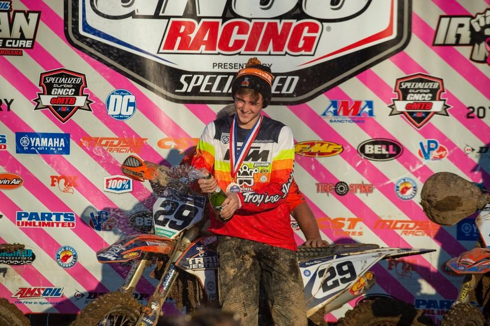 Simon Johnson rounding out the season with another 250A win.