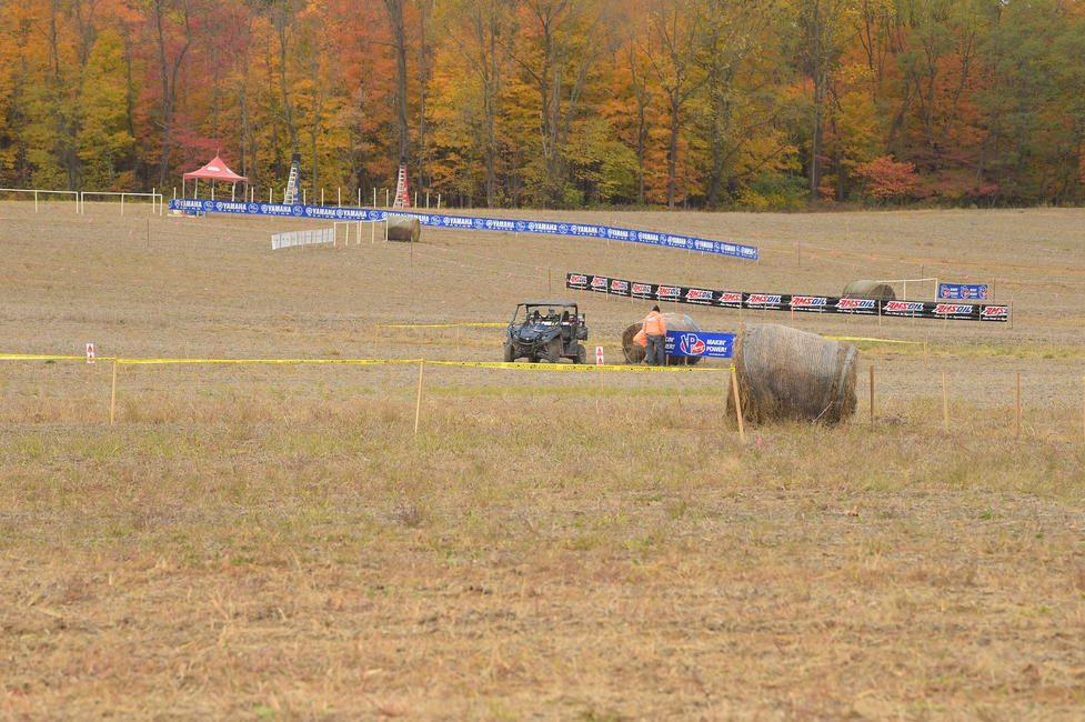 The GNCC and Shaver Family are always hard at work leading up to any event at Ironman Raceway.
