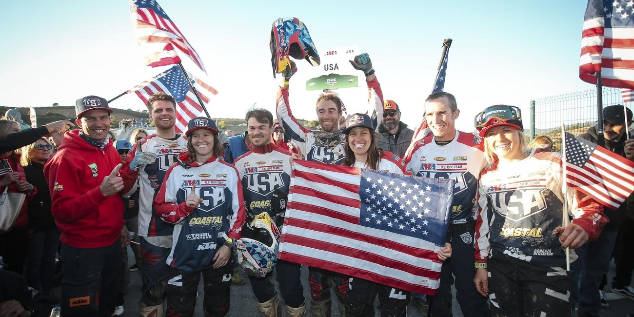 United States' World Trophy Team Clinches Second International Six Days of Enduro Title in Portugal