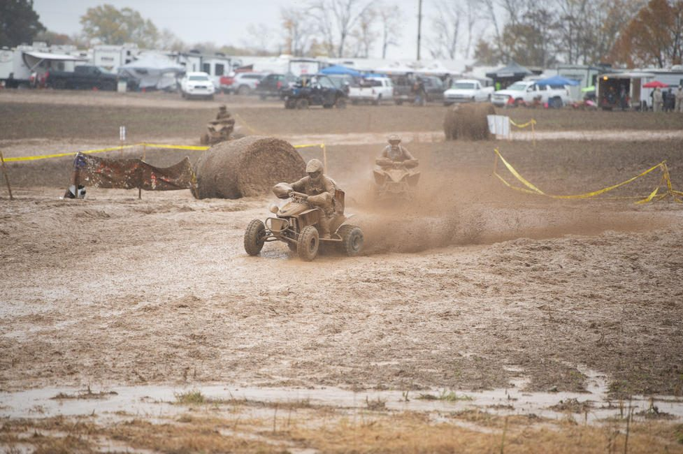The rain was no joke on Saturday at this year's Ironman GNCC...
