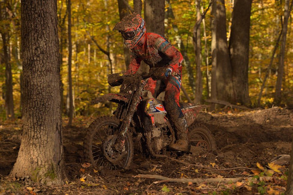 Ben Kelley came through to take his second-straight overall and XC1 Open Pro class win. Kelley moved up from the XC2 250 Pro class after earning his second championship at the Black Sky GNCC.