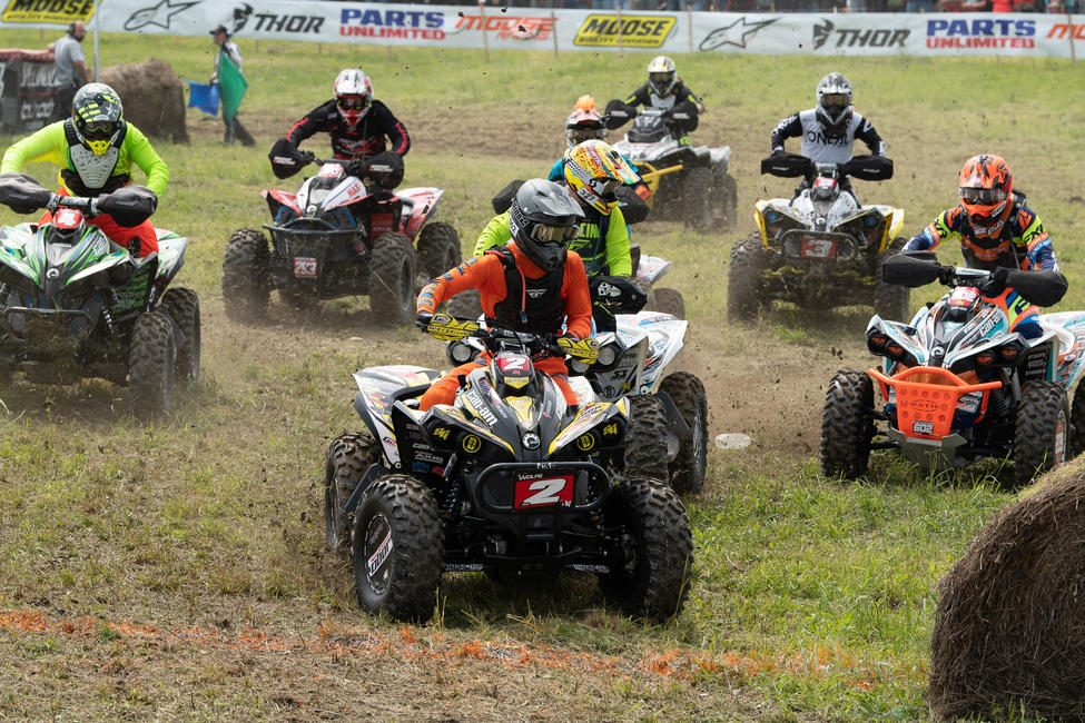 Wolfe would come through grabbing the 4x4 Pro class holeshot at multiple events.