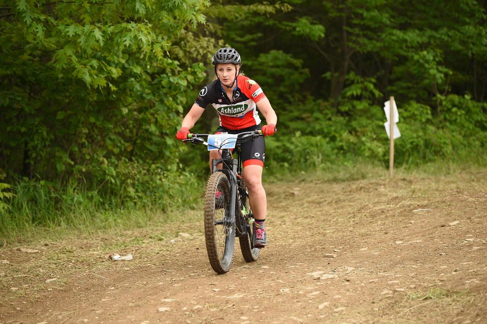 Ashley Hendershot earned 5 class wins, out of 7 events during the first-ever Specialized Turbo eMTB GNCC National Championship Series in 2019.