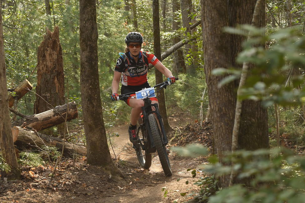 Ashley is hopeful that the 2020 season will bring out more competition in the eMTB races.