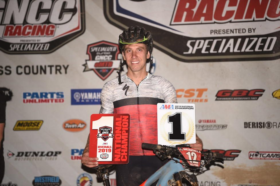Mullins earned the first-ever Specialized Turbo eMTB GNCC National Championship.