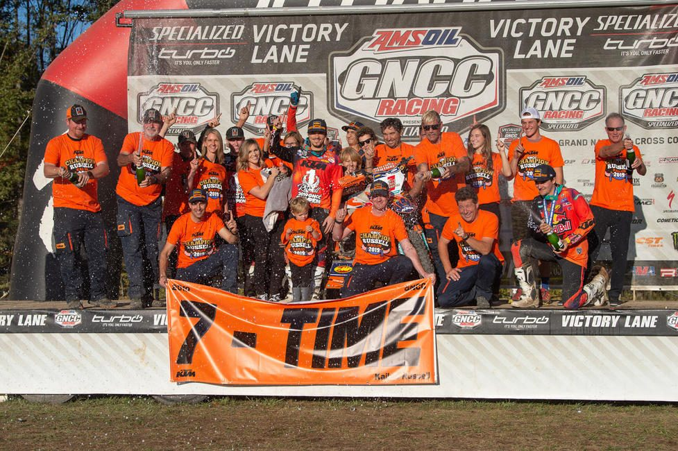KR will compete for his eighth-straight GNCC National Championship this season.