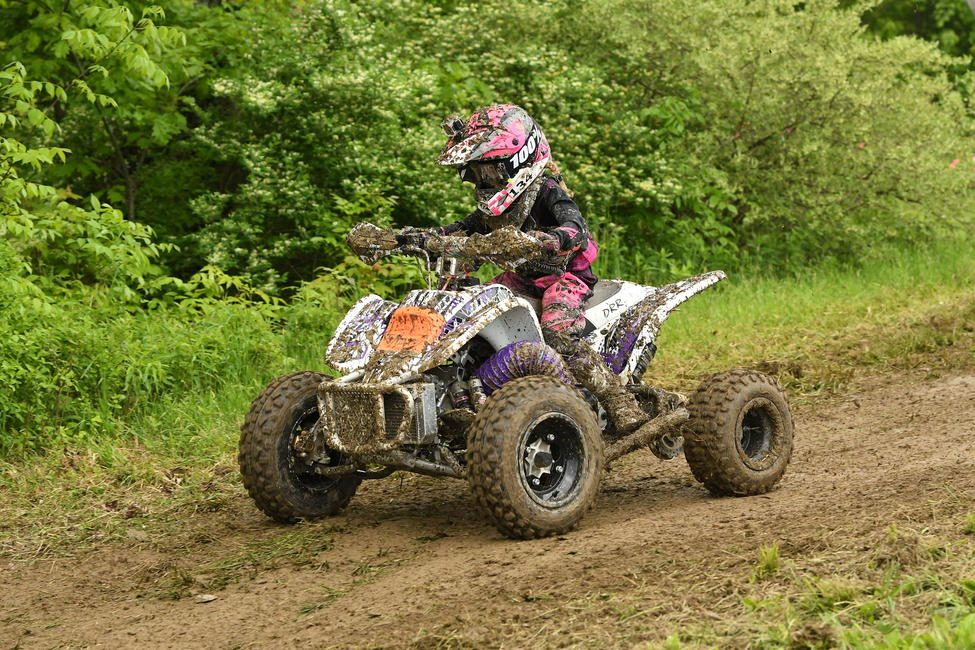 Davis also competed in the ATV Youth races in the 70 CVT class, where she finished second at the end of the season.