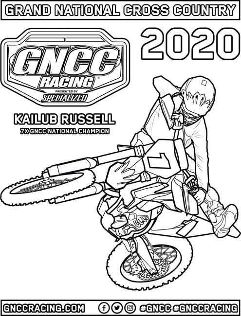 - GNCC Coloring Pages - GNCC Racing