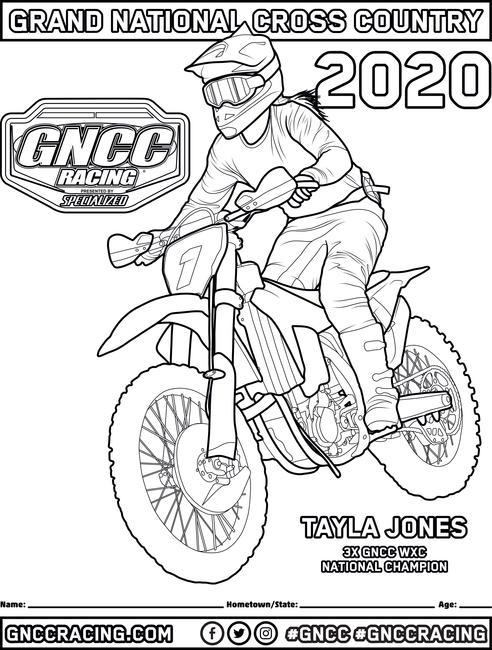 - GNCC Coloring Pages - GNCC Racing