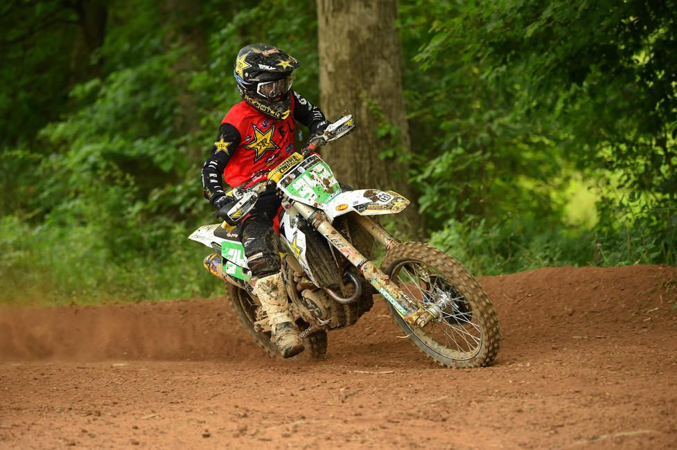 Craig DeLong (Rockstar Energy Husqvarna Factory Racing) took home the XC2 250 Pro class win at round seven. PC: Ken Hill