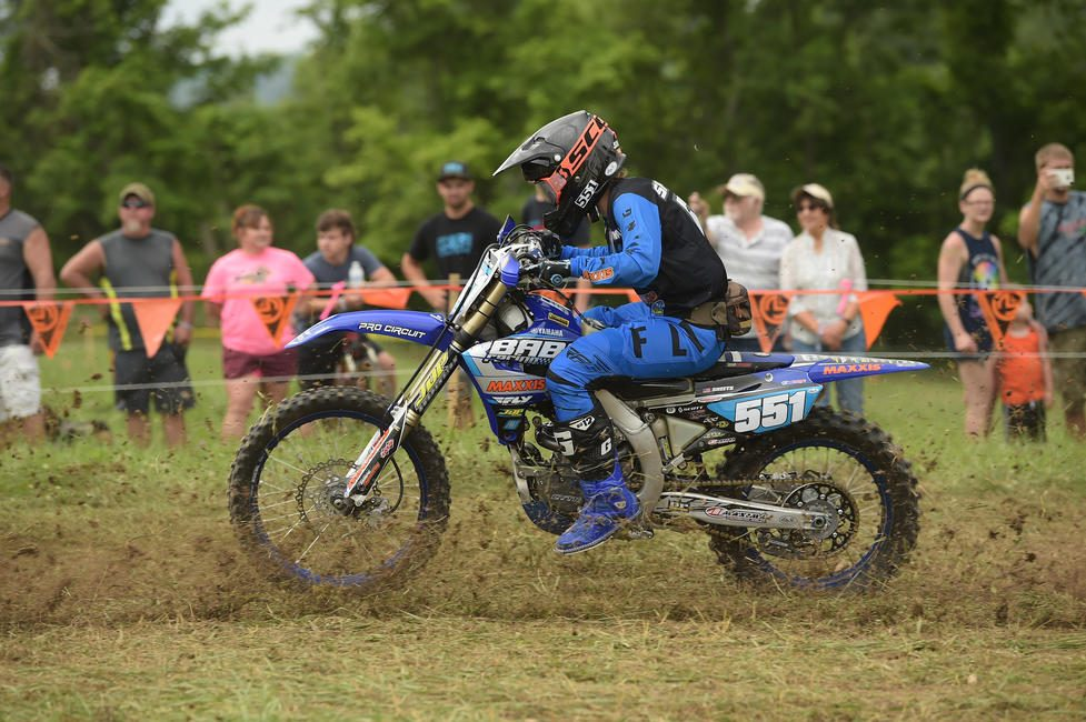 Becca Sheets (BABS Racing Yamaha/Maxxis) earned her sixth WXC class win of the season on Sunday in the 10 a.m. race. PC: Ken Hill