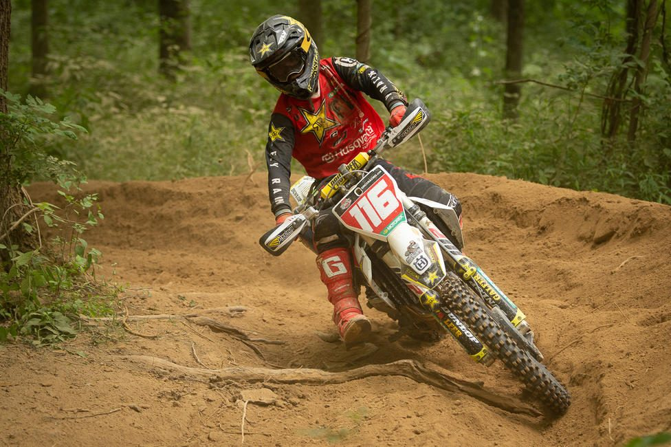 Husqvarna Factory Racing's Zach Osborne battled throughout the duration of the three-hour race, earning seventh in XC1 and 29th overall. PC: Ken Hill