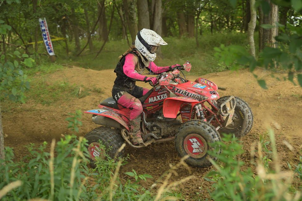 Hannah Hunter has been on fire this year in the WXC ATV class!