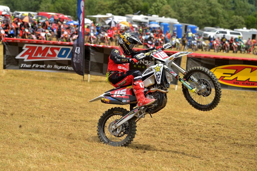 Zach Osborne earned seventh in the XC1 Open Pro class and 29th overall after three hours of racing.