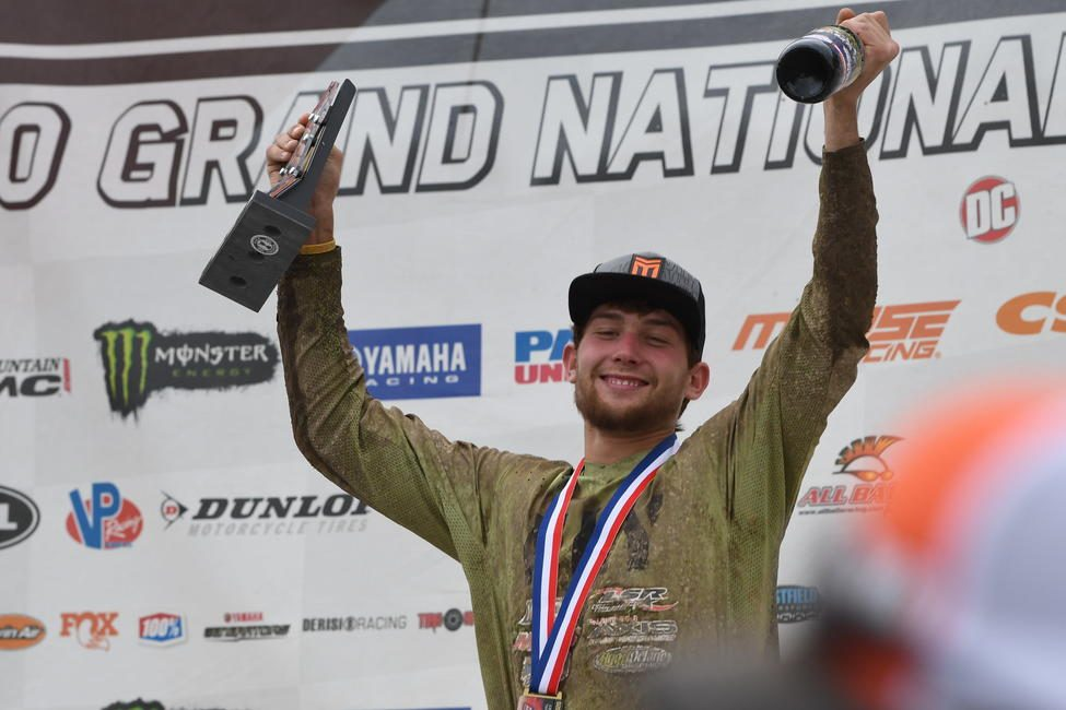 Action Off-Road/Maxxis/Blud Lubricants' Austin Abney captured his fourth XC2 class win of the season, and now holds on the points lead.
