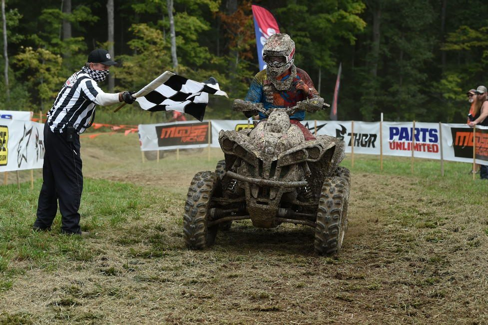 Pierce Performance/Moose Racing/Five Six O Graphics' Cody Collier earned the 4x4 Pro and 11 a.m. overall win.