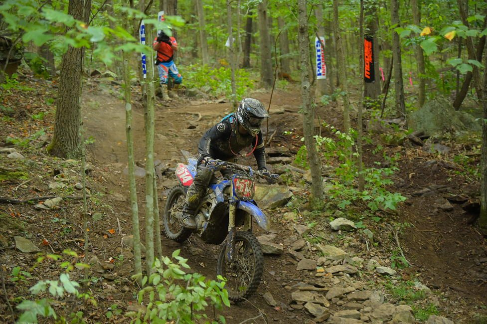 AmPro Yamaha's Steward Baylor Jr. clinched his first overall win of the season aboard his new team in West Virginia.