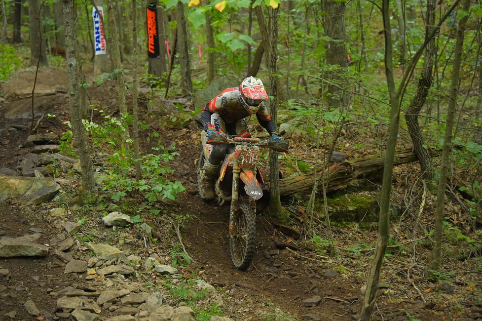 FMF/KTM Factory Racing's Ben Kelley claimed the second overall spot at round nine.