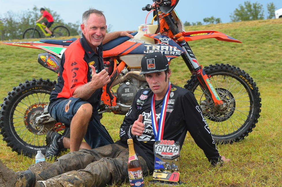 Trail Jesters KTM's Jonathan Girroir battled for three-hours to take home his fourth XC2 250 Pro class win of the season.