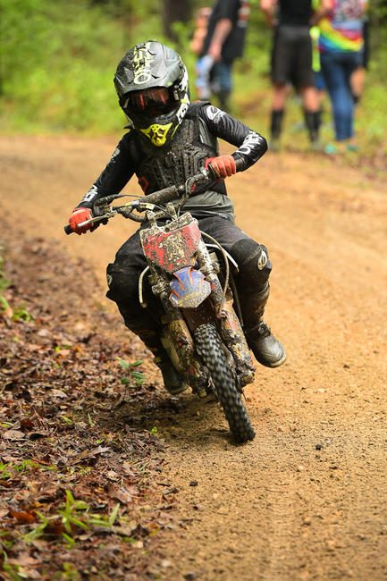Goodman earned seven overall Micro wins throughout the 2020 season in the MXC1 class. Photo: Ken Hill