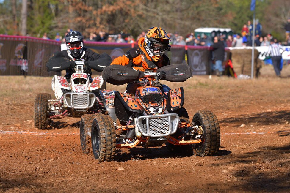 Buckhannon clinched the Micro Overall National Championship at the Burr Oak GNCC. Photo: Ken Hill